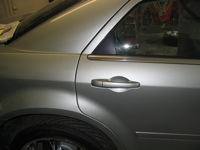 Rear door on 300